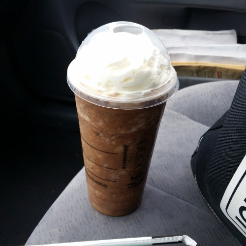 International Coffee Day: Do You Know Where Yours Comes From? Iced Java Mocha Frappuccino from Starbucks