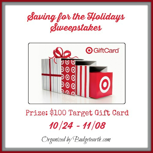 Enter: Saving For The Holidays Sweepstakes