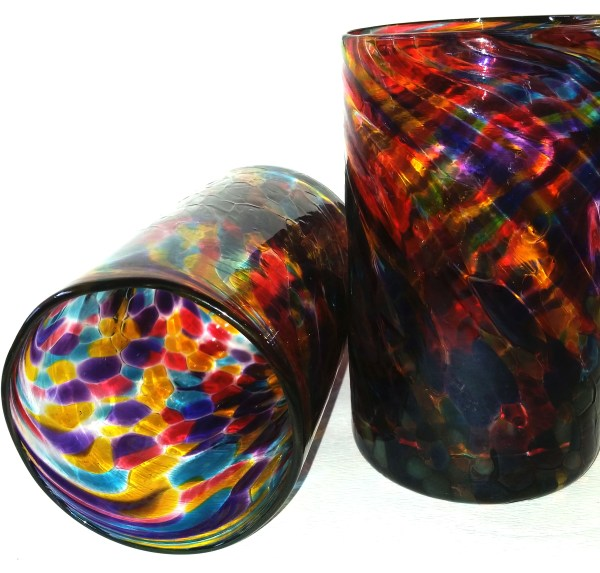 From Treasure To Triumph! - Double tumblers in psychedelic colors