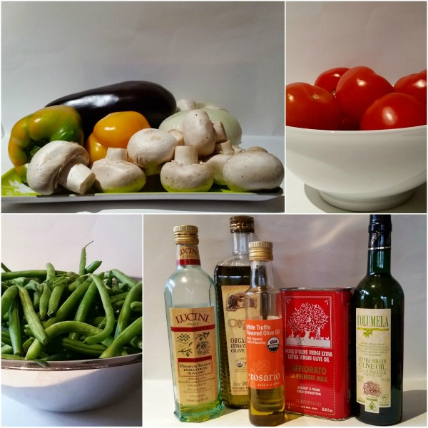 Food Files: A Medley of Veggies and Fine Oils