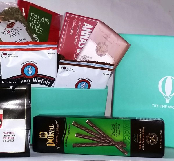 Try The World: Gifts Of Finest Foods Curated Globally - Delicious treats fin a gift box