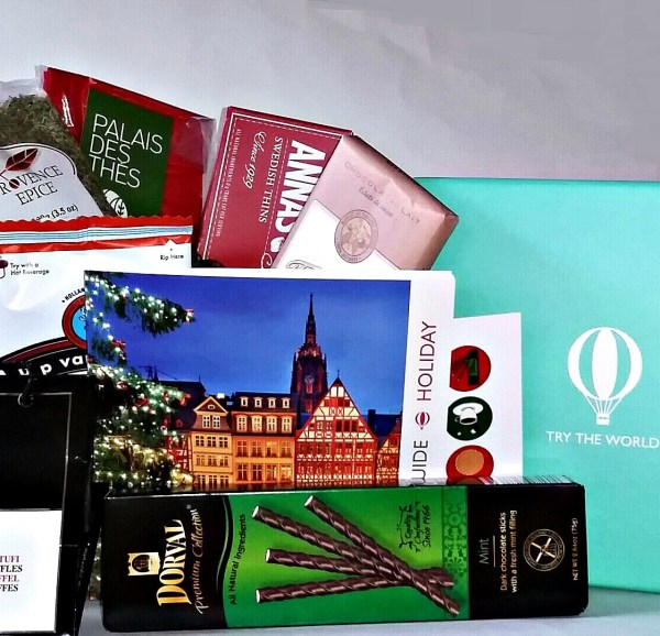 Try The World: Gifts Of Finest Foods Curated Globally - The Holiday Box