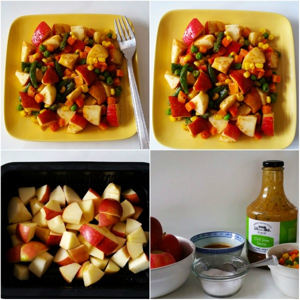 Food Files: Apple Salad w/ Chili Lime Sauce - Ingredients