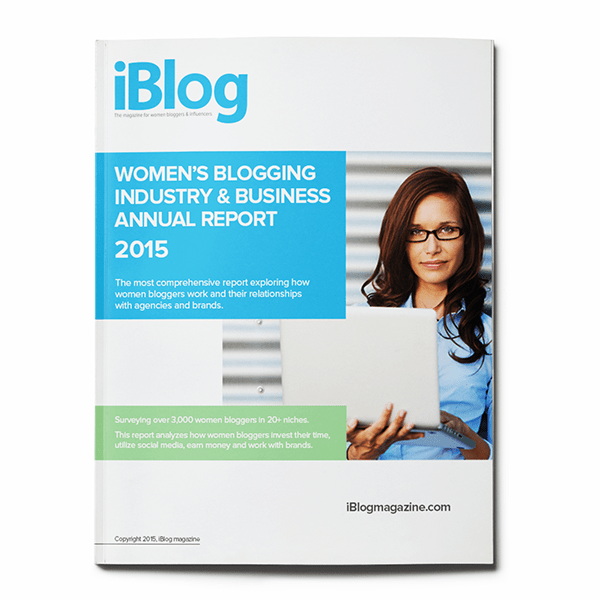 Take #iBlogSurvey15: The Women's Blogging Industry & Business Survey