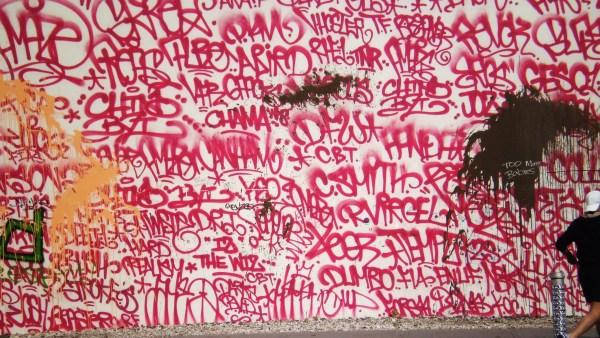 Weekly Photo Challenge: Walls... Keith Haring's wall art