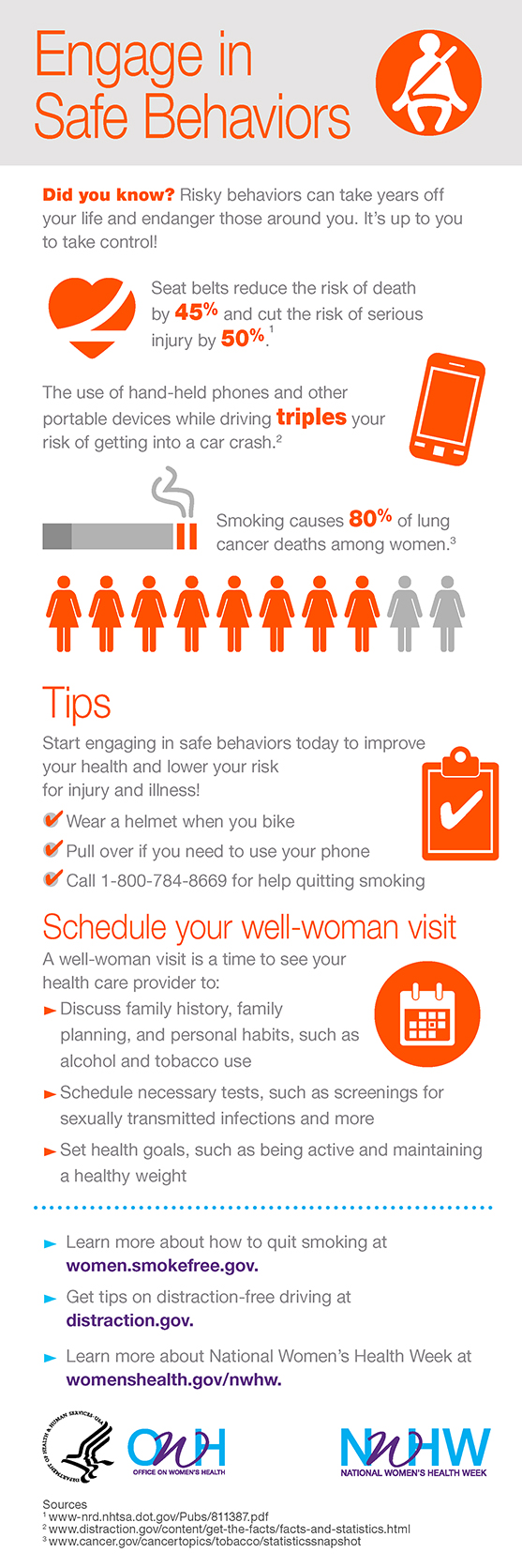 National Women's Health Week: 5 Health Tips from #RelaytheRed & #NWHW