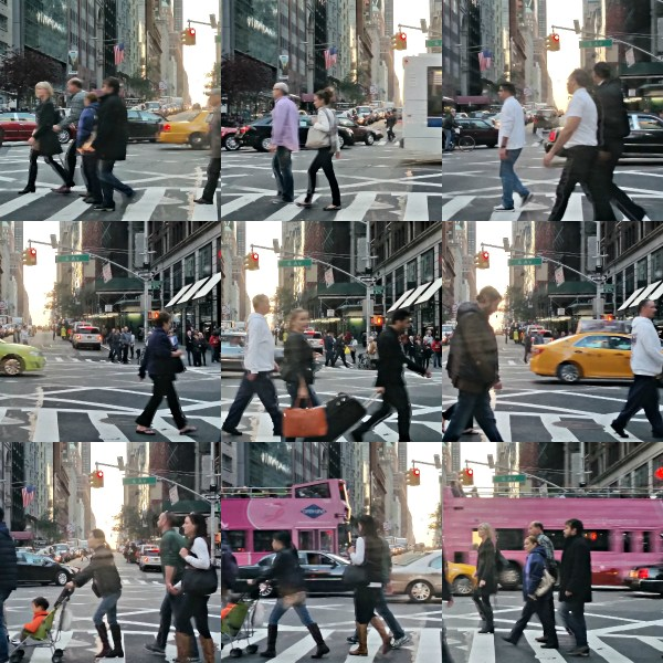 Weekly Photo Challenge: On The Way...  Street crossing