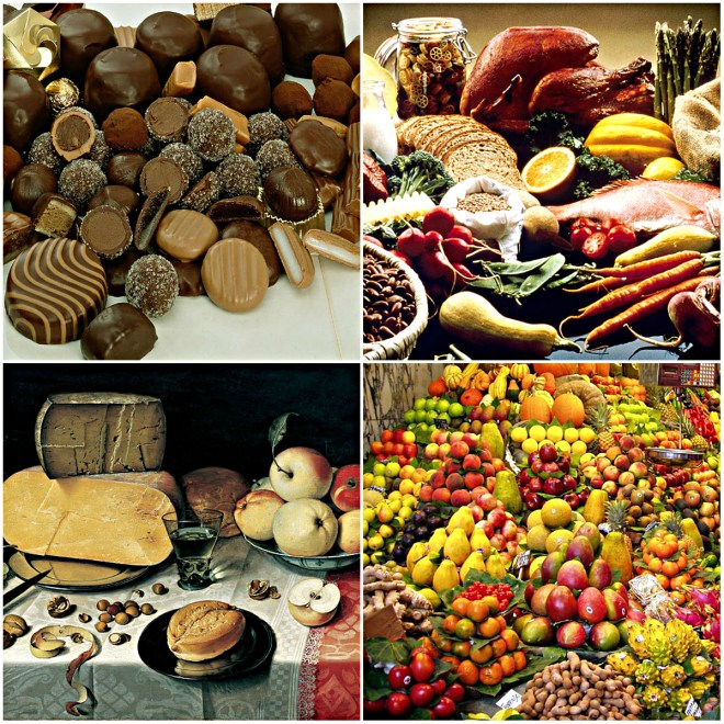 Reflections On Food: Five Foods To Live For... Which of these foods would you include?