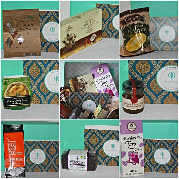Try The World: A Taste Of Thailand - 8 carefully curated Items to Enjoy!