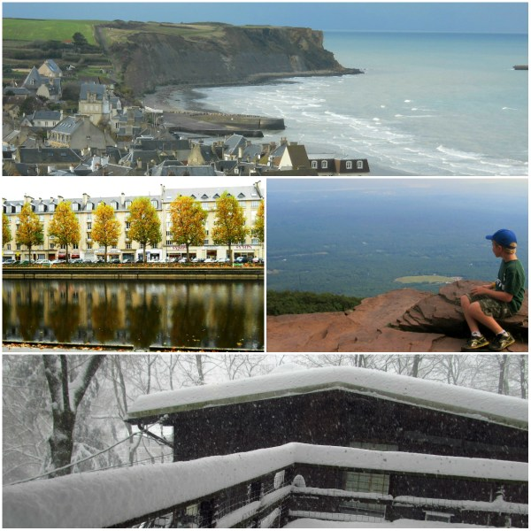 Weekly Photo Challenge: The Edge - From mountains, to bluffs, to snow capped buildings, and body of water edges