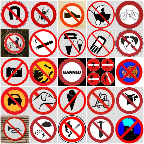 Musings: BANNED