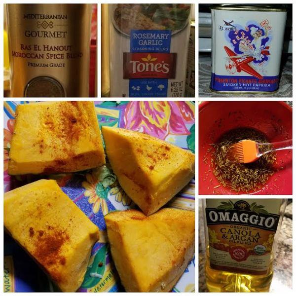 Food Files: Fried Ripe Plantains & Roasted Kabocha