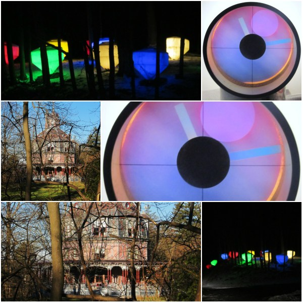 Photo Challenge: Uncommon = Unusual - A night light show