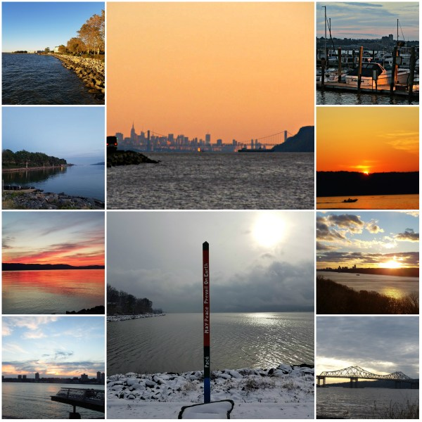 Photo Challenge: Variations On a Theme - Hudson River at different times of the year