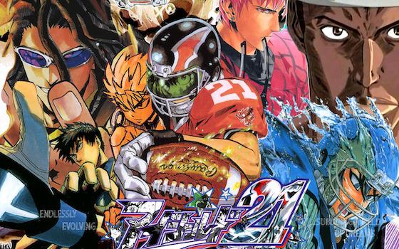 スポーツアニメおすすめ1:『アイシールド21』
