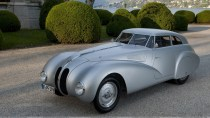 1940 BMW 328 Kamm Coupe In Silver At GoodWood Festival Of Speed