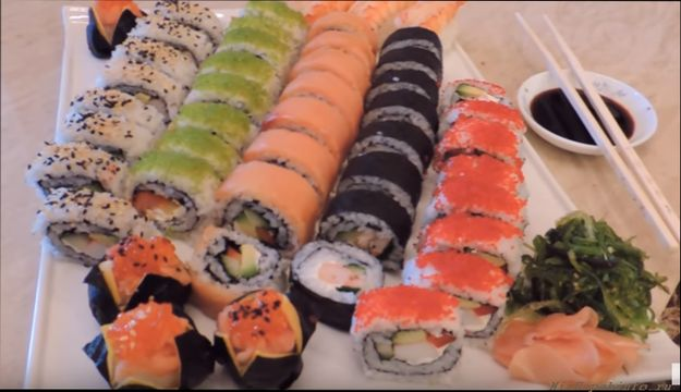 суши роллы готовые