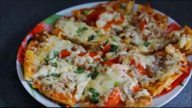 Пицца для тех, кто на диете