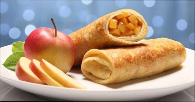 Начинка к блинам — яблочная