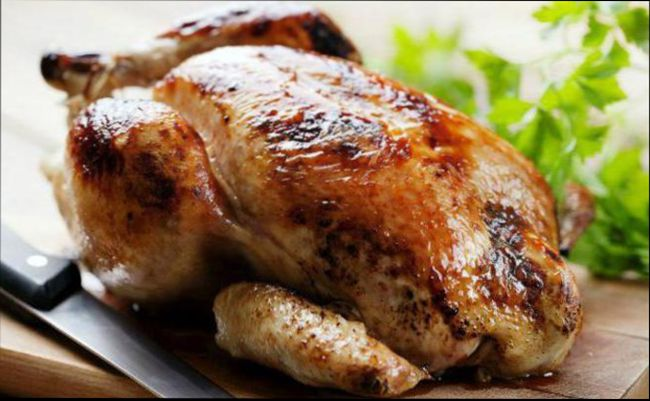 """Классический рецепт запекания - """"Курица в фольге"""