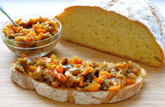 Грибная икра с луком и морковкой - домашний рецепт