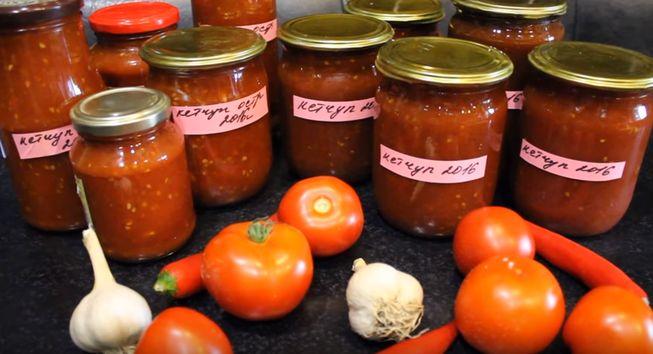Домашний кетчуп – 6 вкусных и простых рецептов на зиму