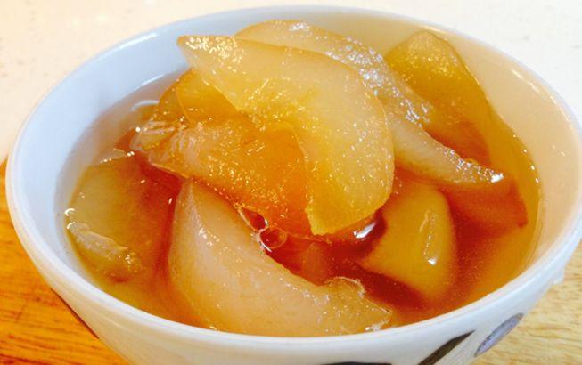 рецепт простого варенья из груши дольками