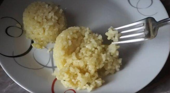 Варка рису в пакетиках