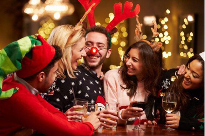 Новогоднее мероприятие для самых стойких