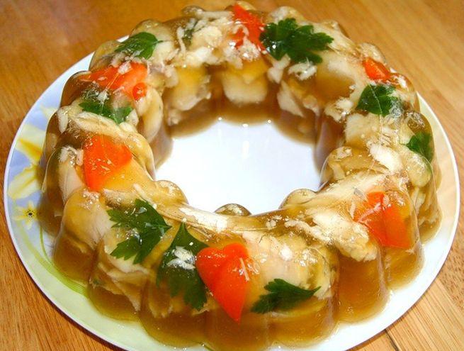 Рецепт из скумбрии с желатином
