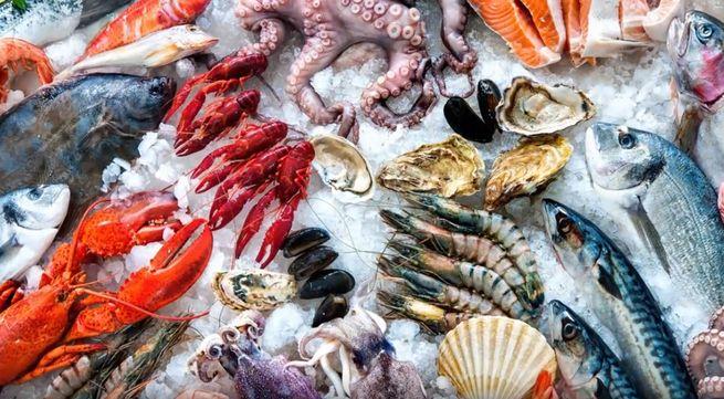 Морская рыба и морепродукты для похудения