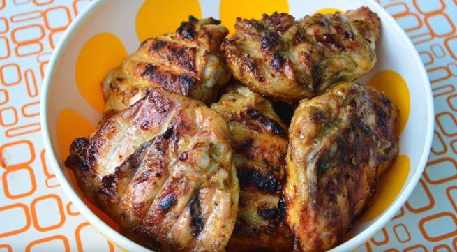 рецепт шашлыка из куриной грудки