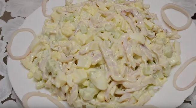 сахалинский салат