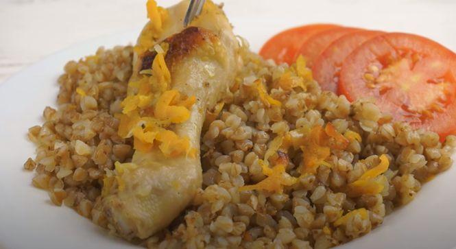 Рецепт гречневой каши с мясом курицы