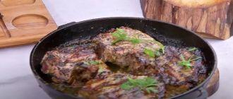 рецепты блюд из свинины