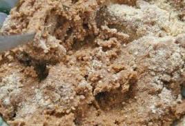 Крем қосылған жердегі печенье