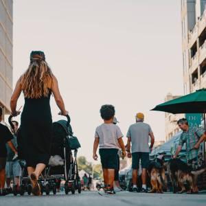 salir a la calle con niños