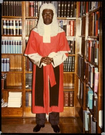 Judge John Oliver Manyarara
