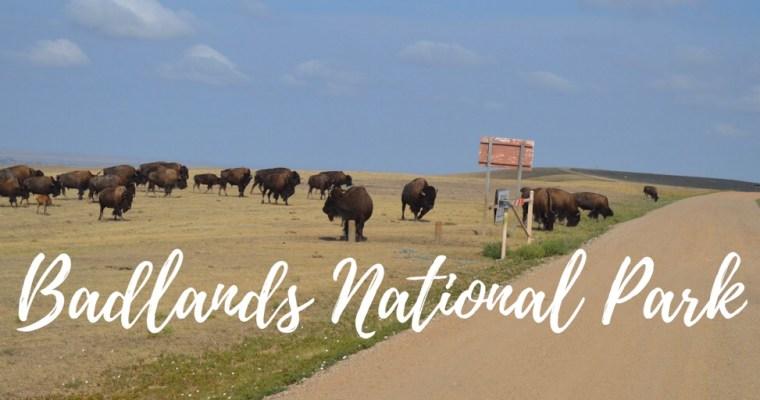 Badlands National Park. Eclipse Day!