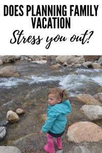 Dealing with Trip Planning Anxiety can be challenging. Mom's spend so much time planning family vacation that it can be very stressful. All moms need a little encouragement when trip planning starts to feel overwhelming!
