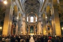 solemne Santa Misa Tridentina de acción de gracias en la iglesia de San Sulpicio de en París (Francia), con motivo del XXV Aniversario de la FSSP