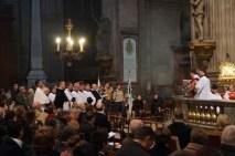 Solemne Misa de acción de gracias en la iglesia de San Sulpicio de París (Francia), con motivo del XXV Aniversario de la FSSP.