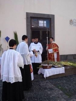 Domingo de Ramos. Forma Extraordinaria Rito Romano. Ermita de San Antonio Abad. Gran Canaria__