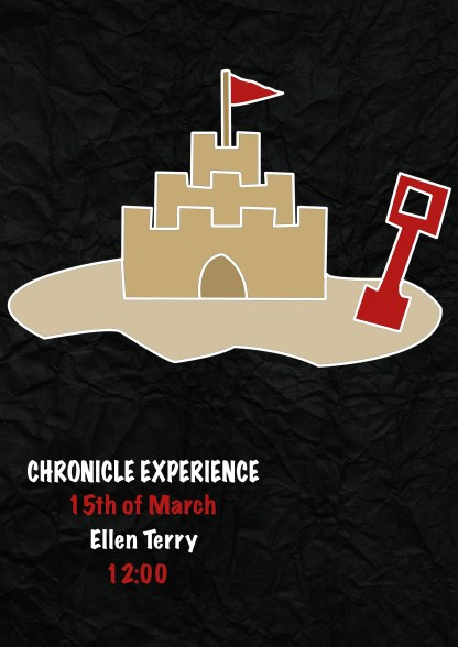Chronicle experience poster simple meida