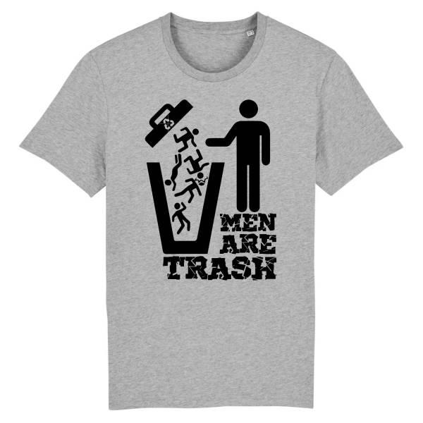 T-shirt classique - MEN ARE TRASH