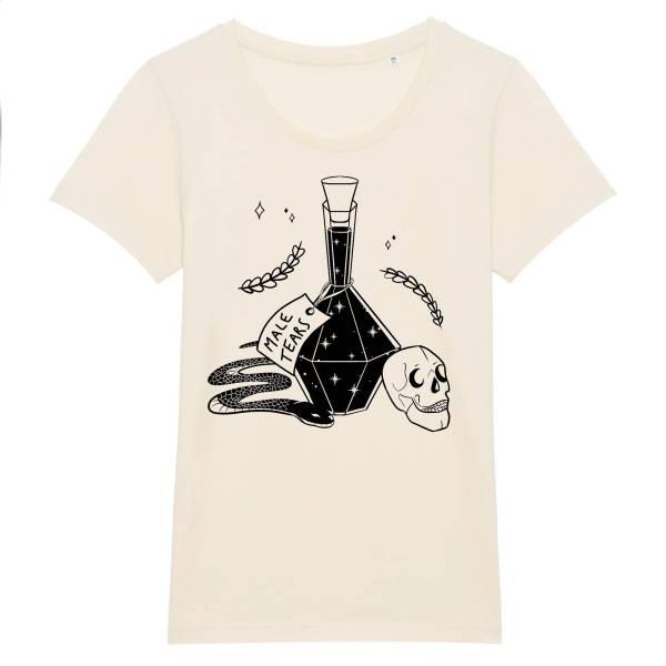 T-shirt moulant - Male tears poison