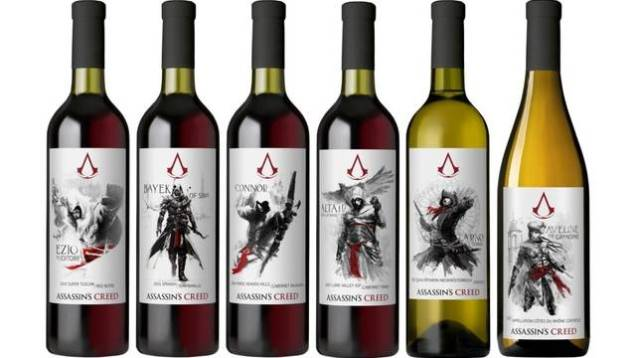 Colección de botellas Assassin's Creed