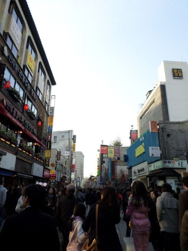 Beyond the Insadong crowds