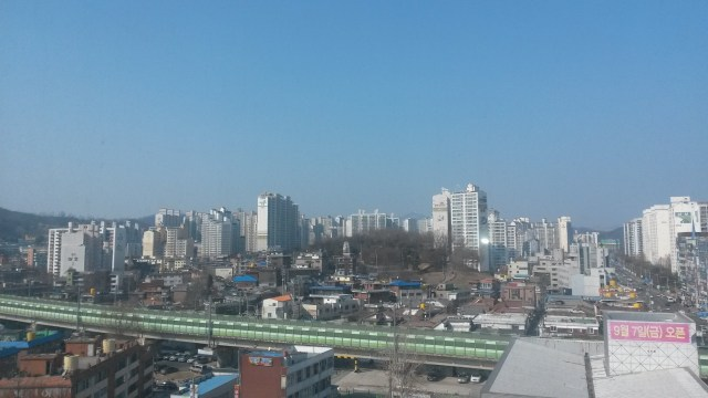 The view of Guri from my new home <3