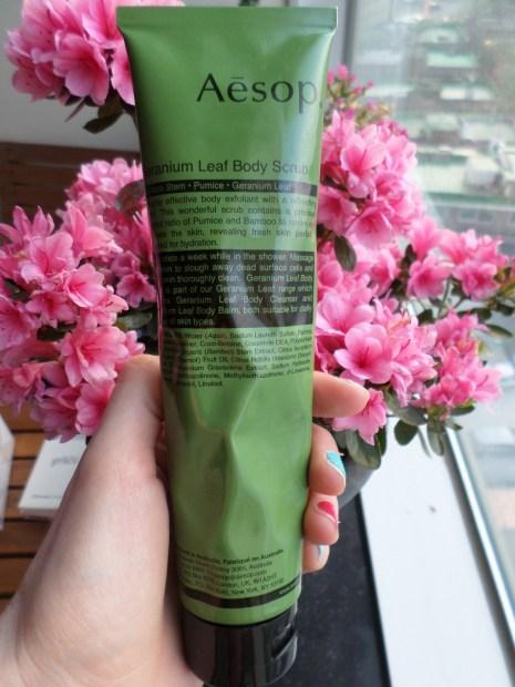 My new love... Aesop's Geranium Leaf Body Scrub